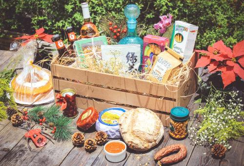 cesta de natal mercadoteca