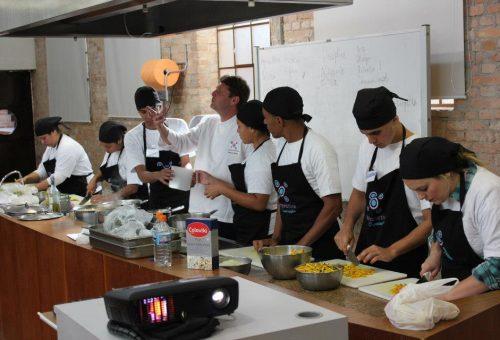 Aprendizes Turma VII Gastromotiva. Foto Divulgação